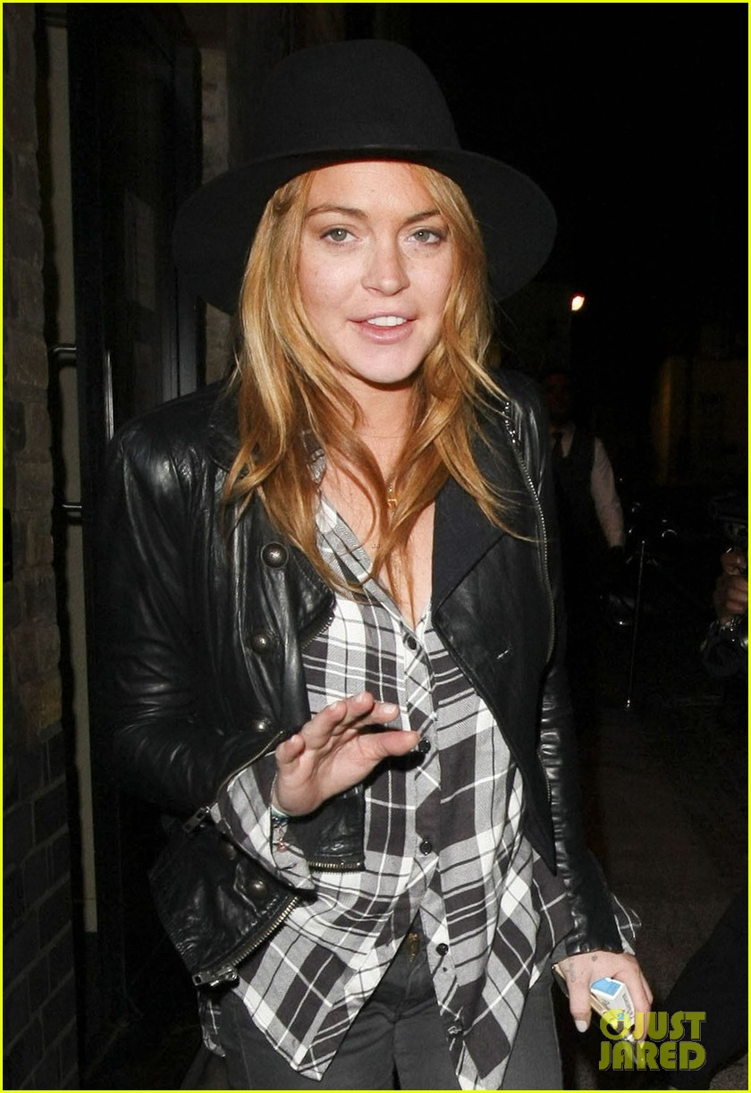 lindsay lohan quotes billy joel chiltern night out london 013182137