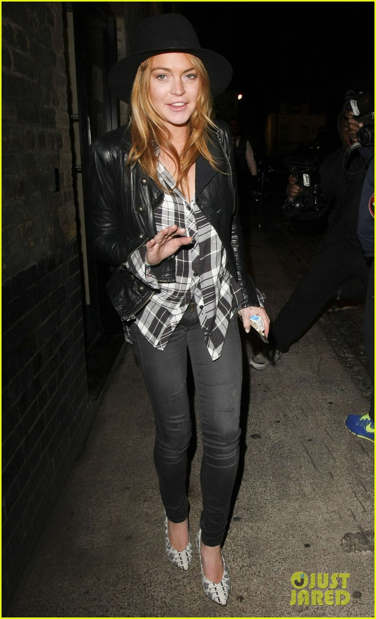 lindsay lohan quotes billy joel chiltern night out london 023182138