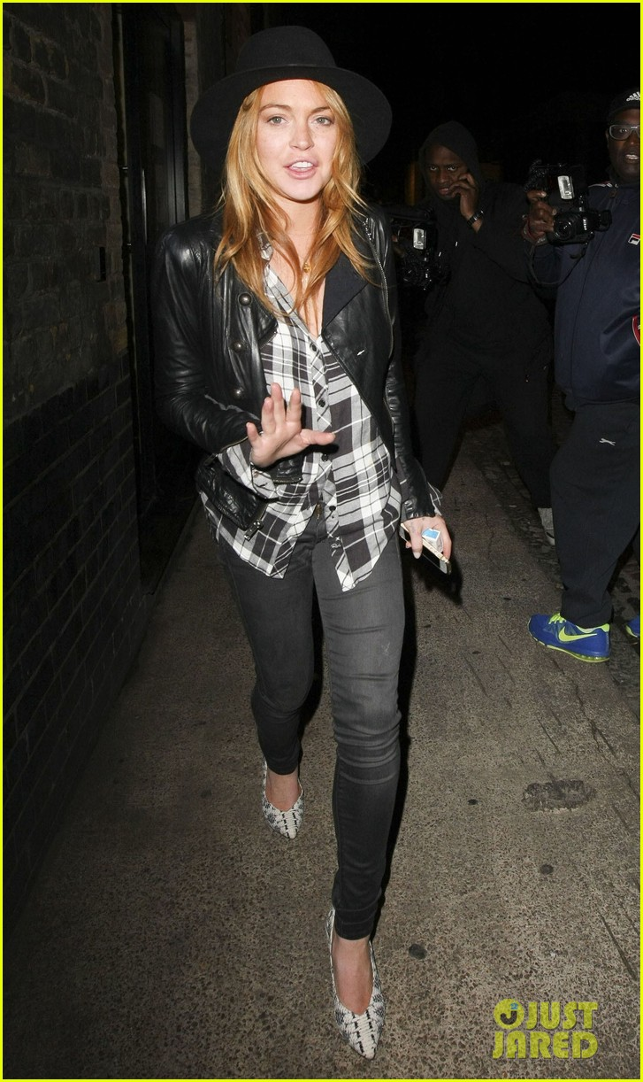 lindsay lohan quotes billy joel chiltern night out london 06