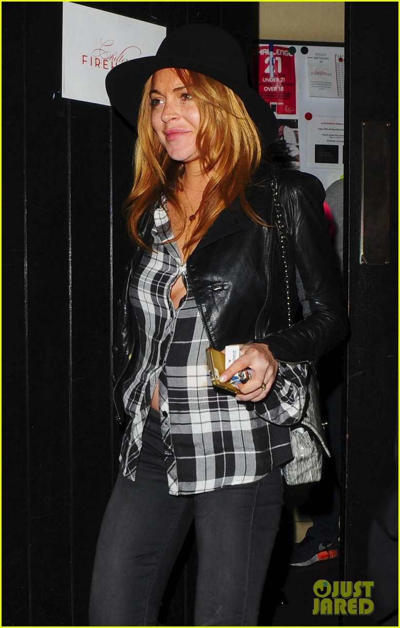lindsay lohan quotes billy joel chiltern night out london 103182146