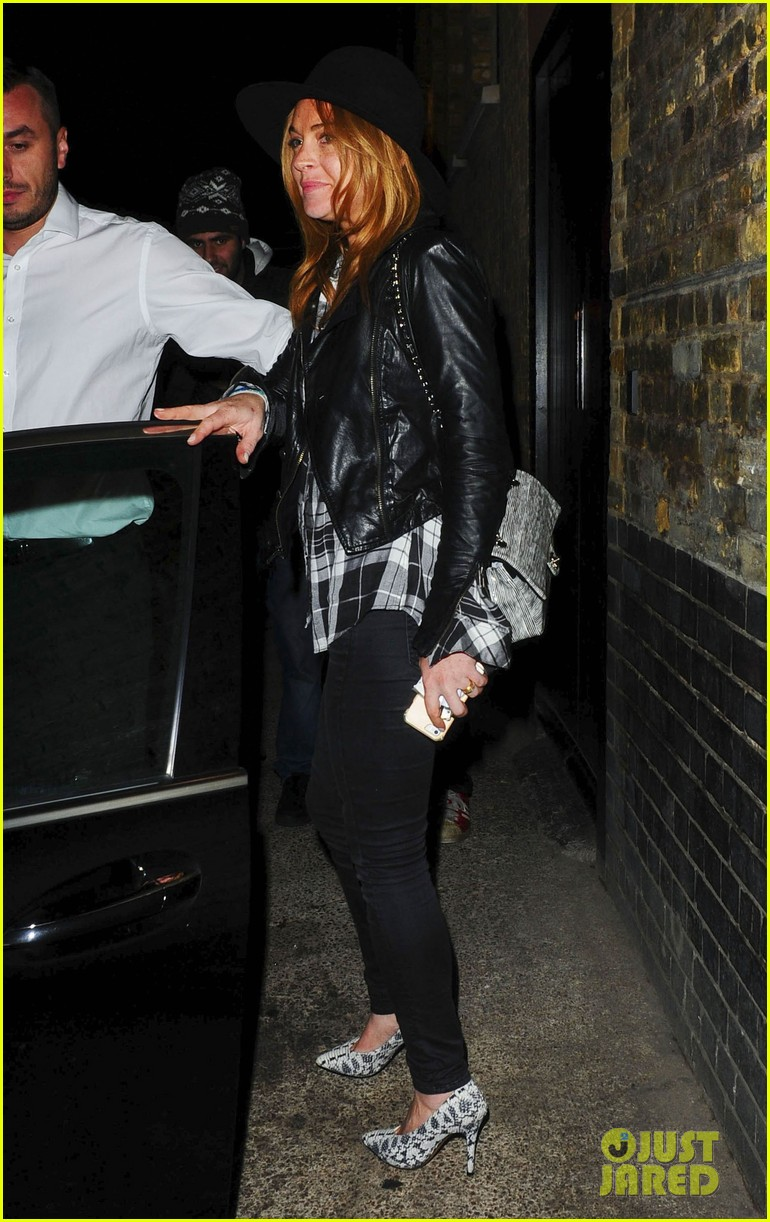 lindsay lohan quotes billy joel chiltern night out london 123182148