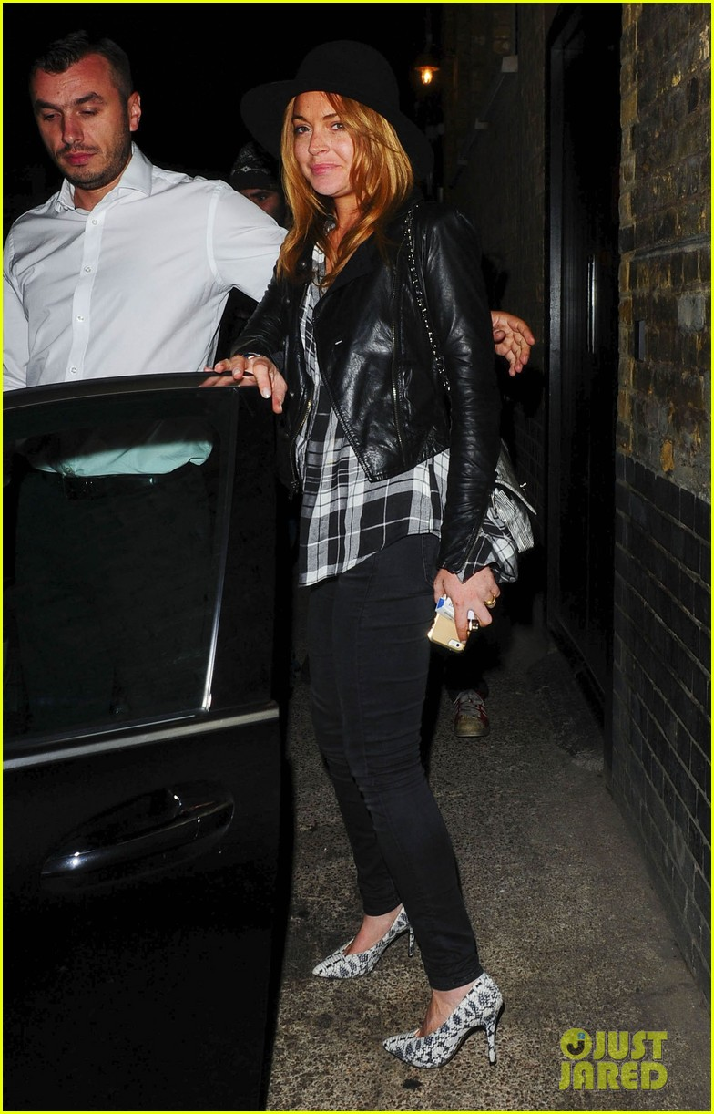 lindsay lohan quotes billy joel chiltern night out london 13