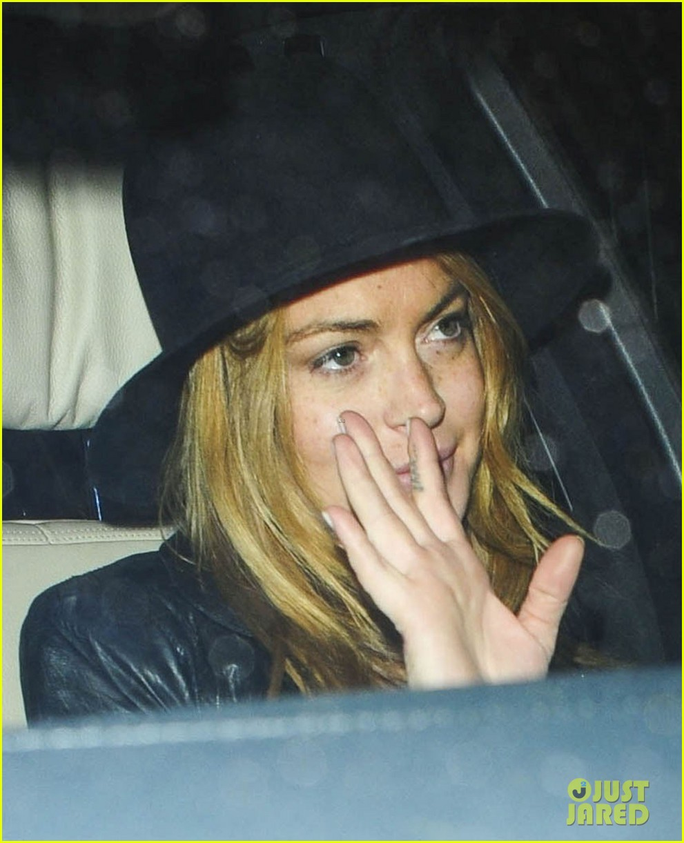 lindsay lohan quotes billy joel chiltern night out london 16