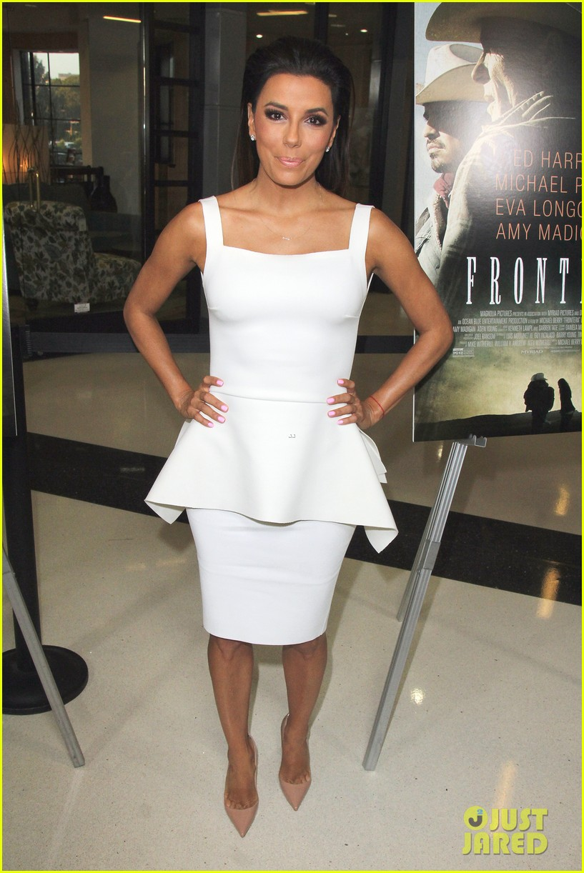 eva longoria is the lady in white at frontera l a premiere 093180802