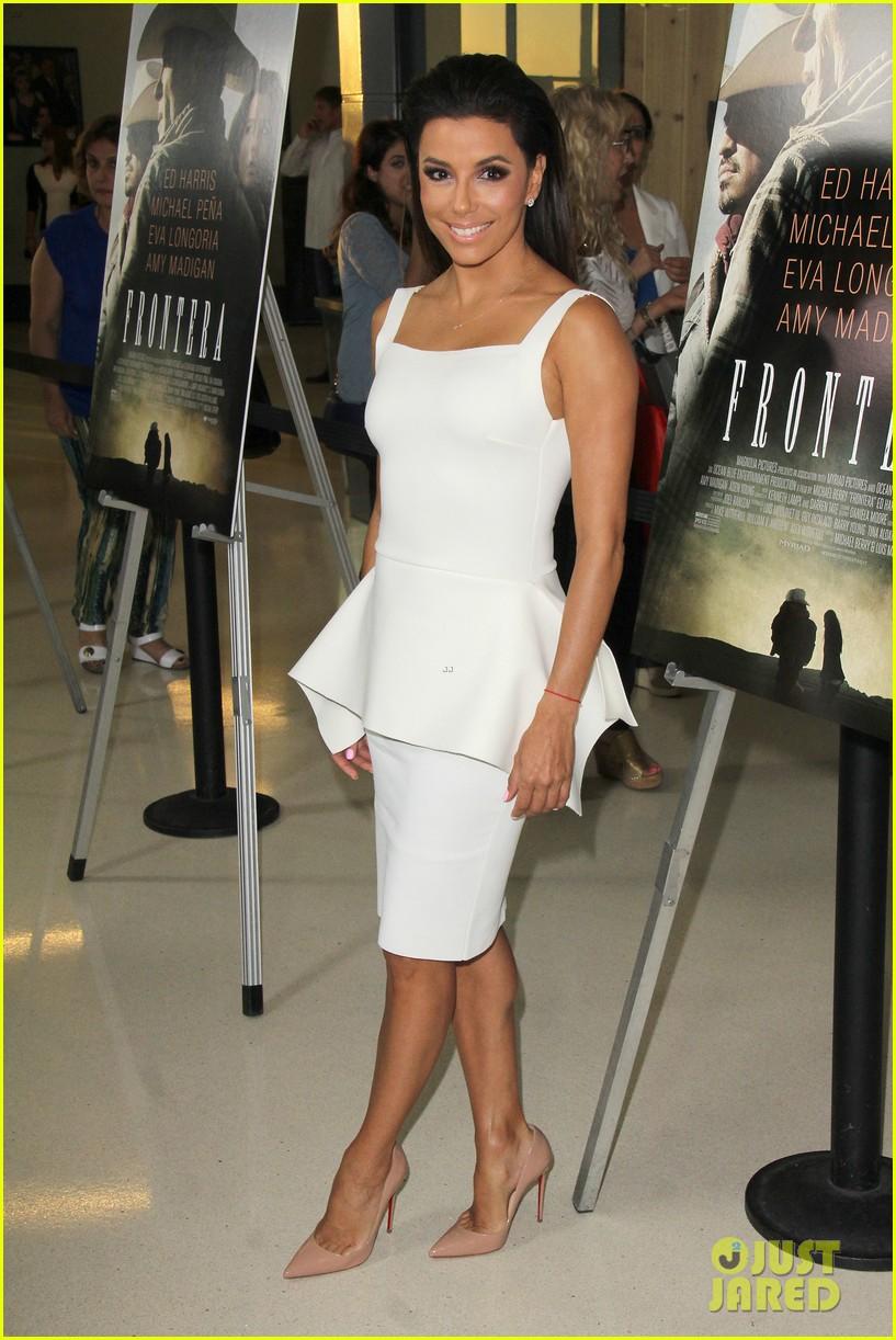 eva longoria is the lady in white at frontera l a premiere 103180803