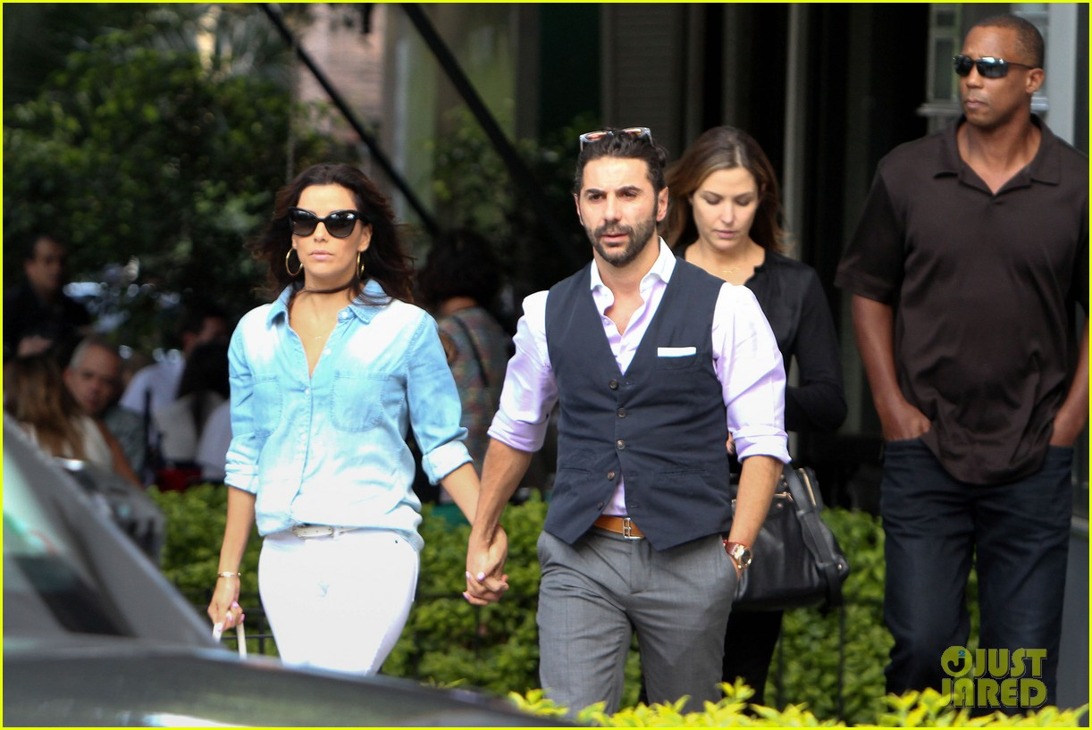 eva longoria boyfriend jose antonio baston romantic lunch 033186866