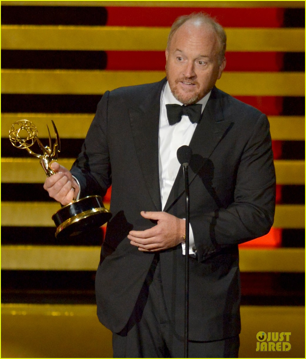 louis ck wins outstanding writing at emmys 2014 043183756