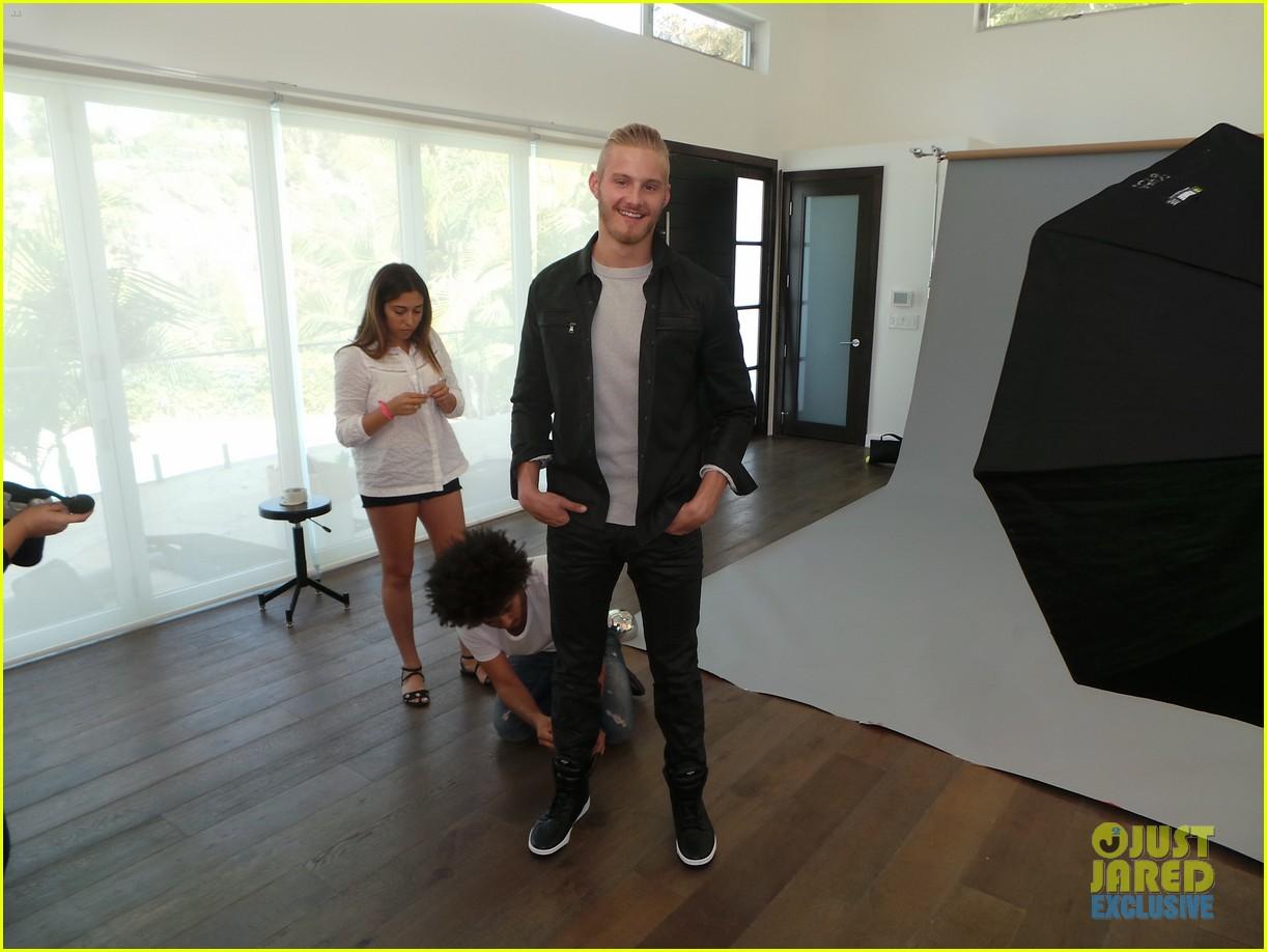 alexander ludwig jj spotlight behind the scenes photos 013179180