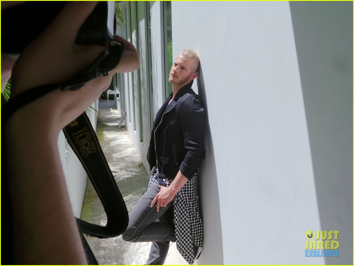 alexander ludwig jj spotlight behind the scenes photos 13