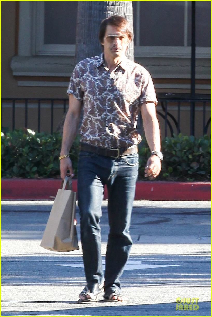olivier martinez travels back to the 1970s 013177489