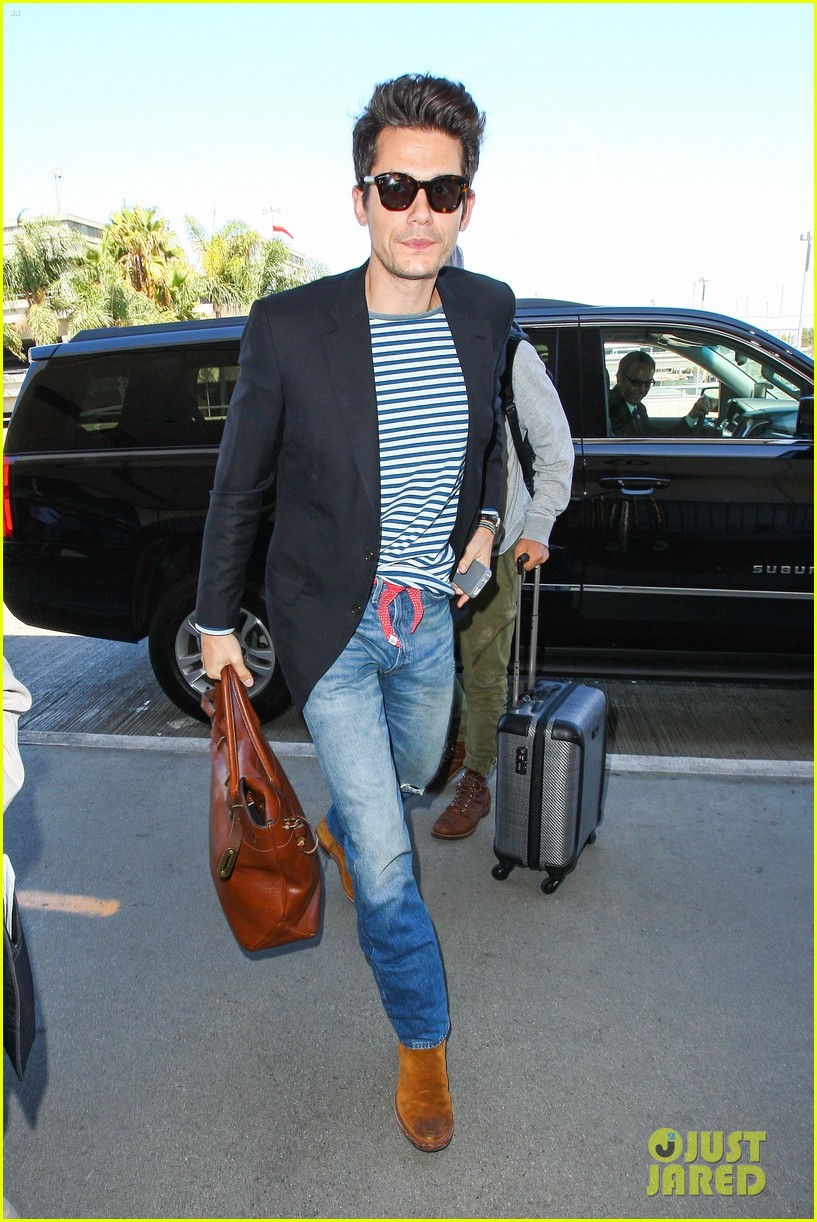 john mayer lax airport ed sheeran concert 03