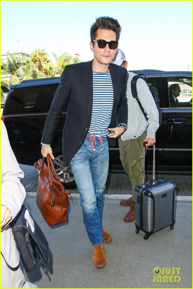 john mayer lax airport ed sheeran concert 073186424