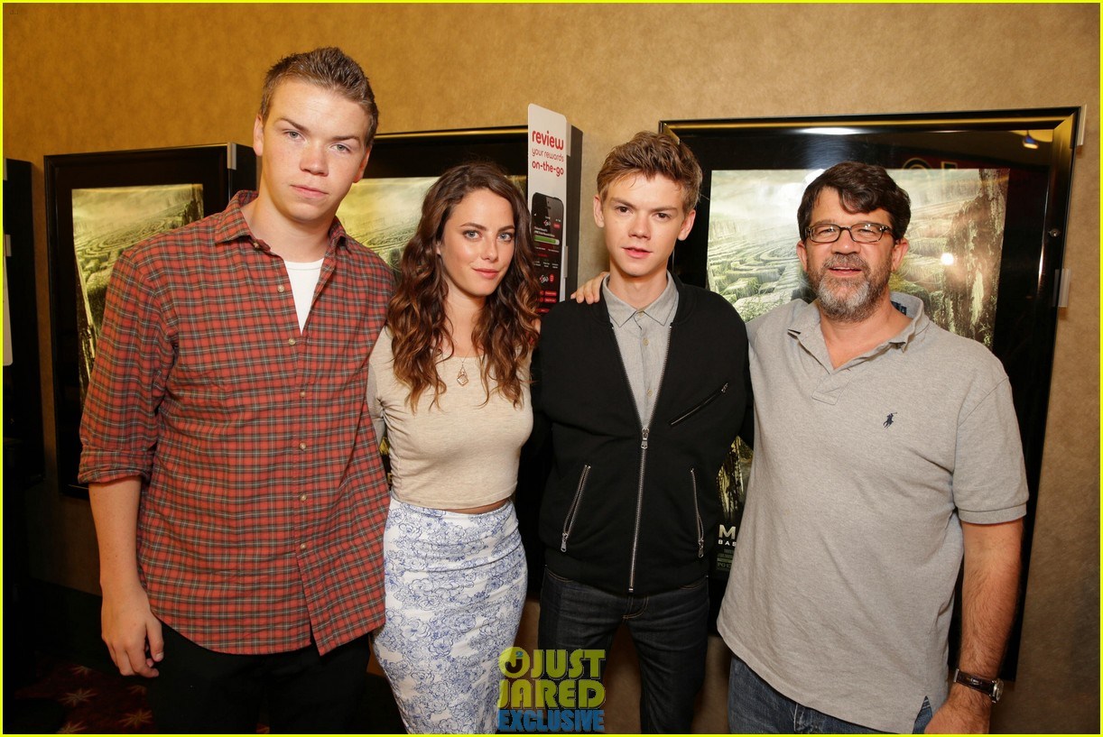 dylan obrien maze runner justjared screening 10