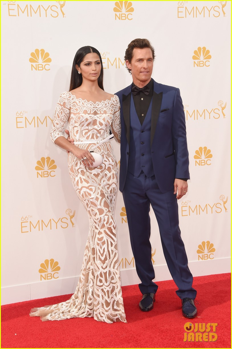 matthew mcconaughey arrives at the emmys 2014 043183550