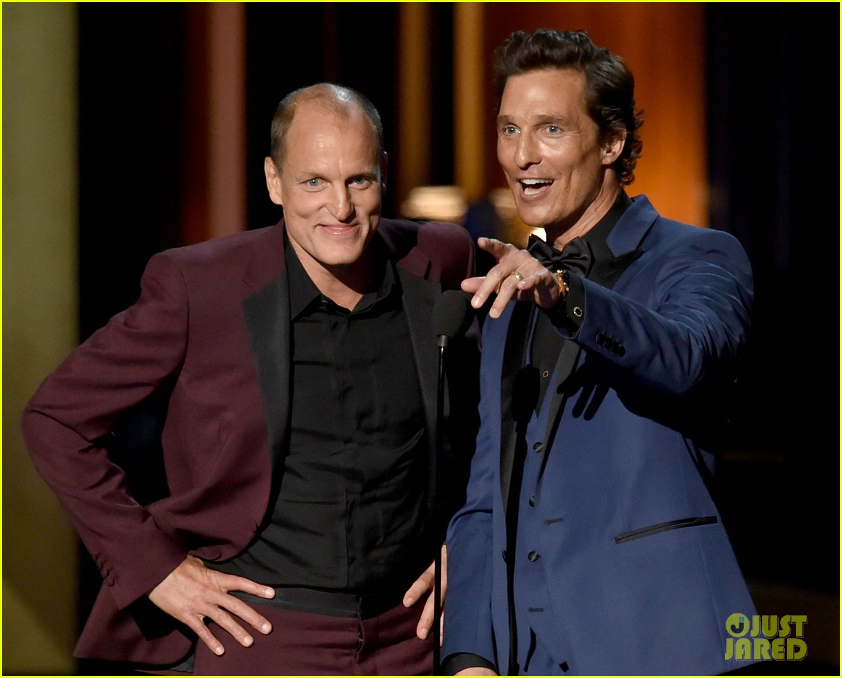 matthew mcconaughey woody harrelson night at the roxbury 023183762