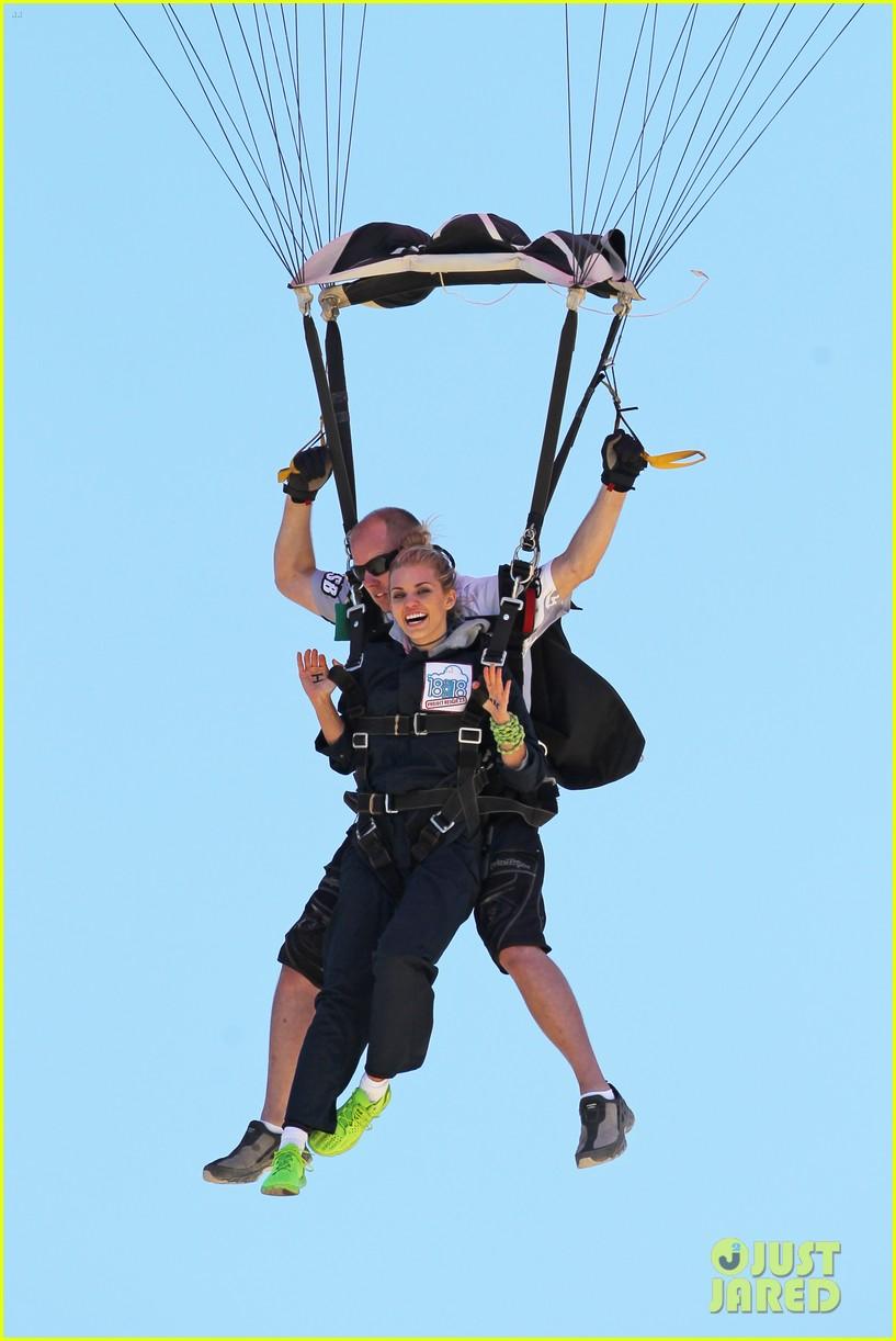 annalynne mccord charity i care skydiving 053178230