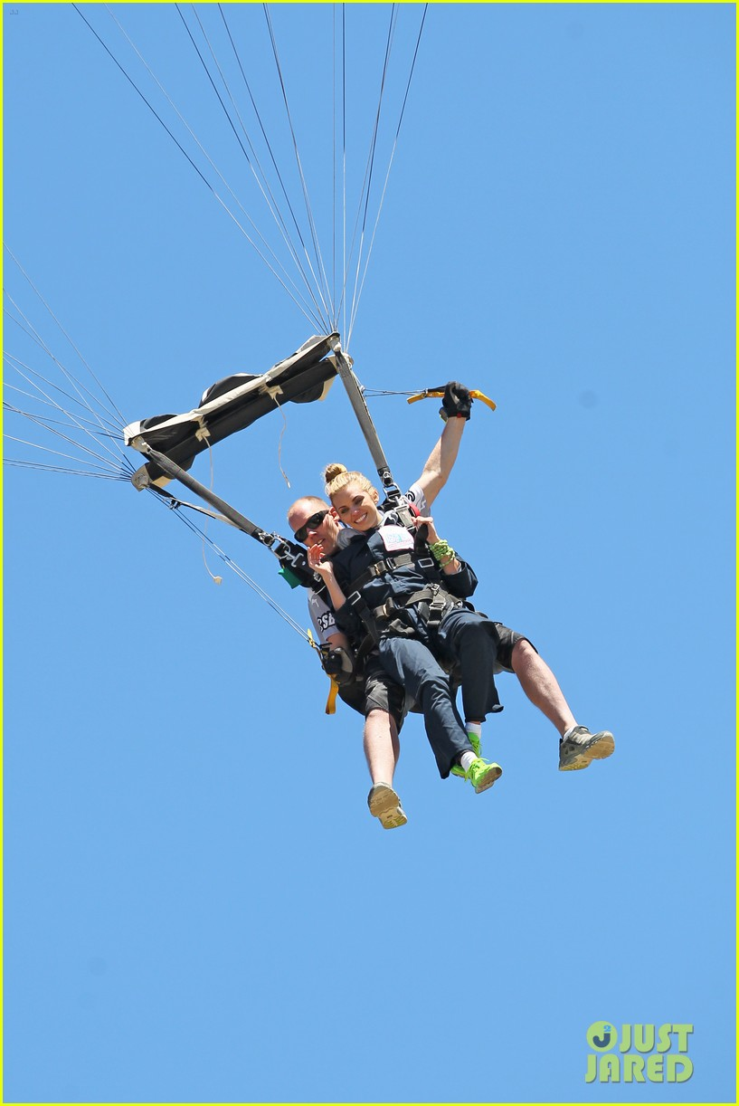 annalynne mccord charity i care skydiving 063178231