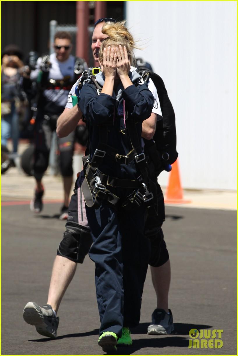 annalynne mccord charity i care skydiving 093178234