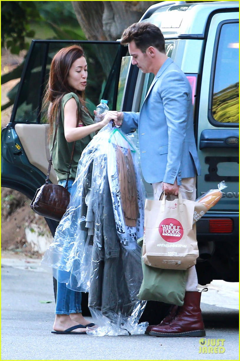 jonathan rhys meyers grabs groceries after another me hits theaters 033181608