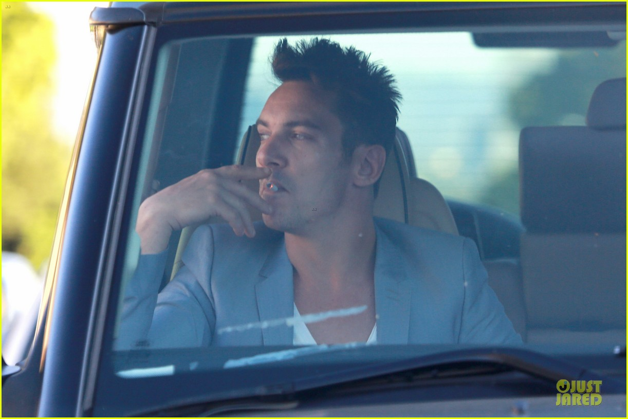 jonathan rhys meyers grabs groceries after another me hits theaters 103181615