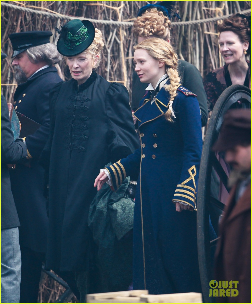 mia wasikowska captain blues coat looking glass 033178767