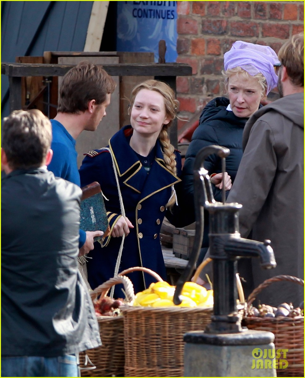 mia wasikowska captain blues coat looking glass 133178777