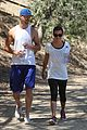 lea michele matthew paetz sweat it out 15