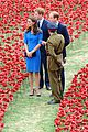 kate middleton prince william visit stunning ceramic poppy installation 04