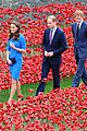 kate middleton prince william visit stunning ceramic poppy installation 05