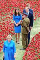 kate middleton prince william visit stunning ceramic poppy installation 14