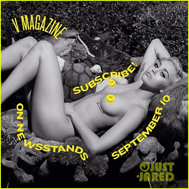 miley cyrus poses totally naked for v magazine 023186049