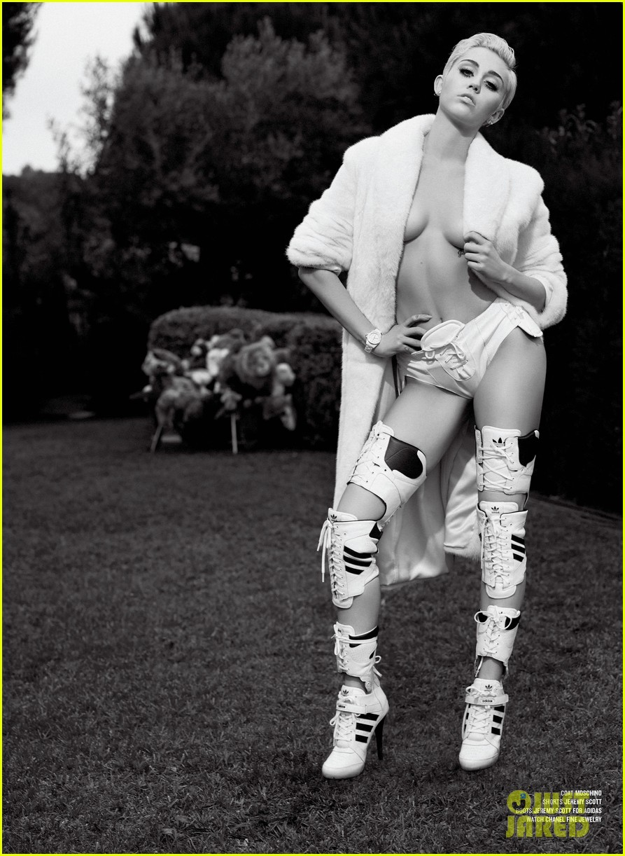 miley cyrus poses totally naked for v magazine 053186052
