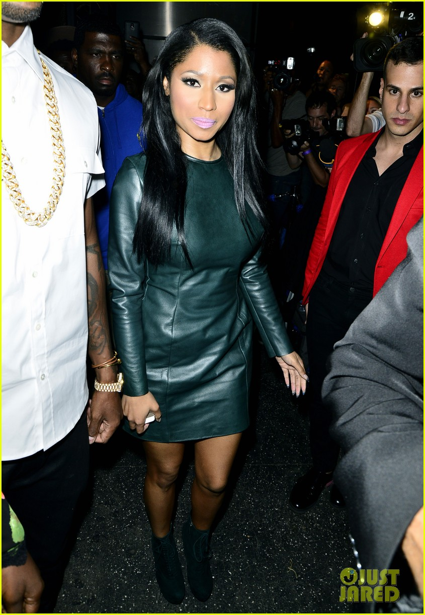 nicki minaj jessie j hit up the republic records vma after party 01