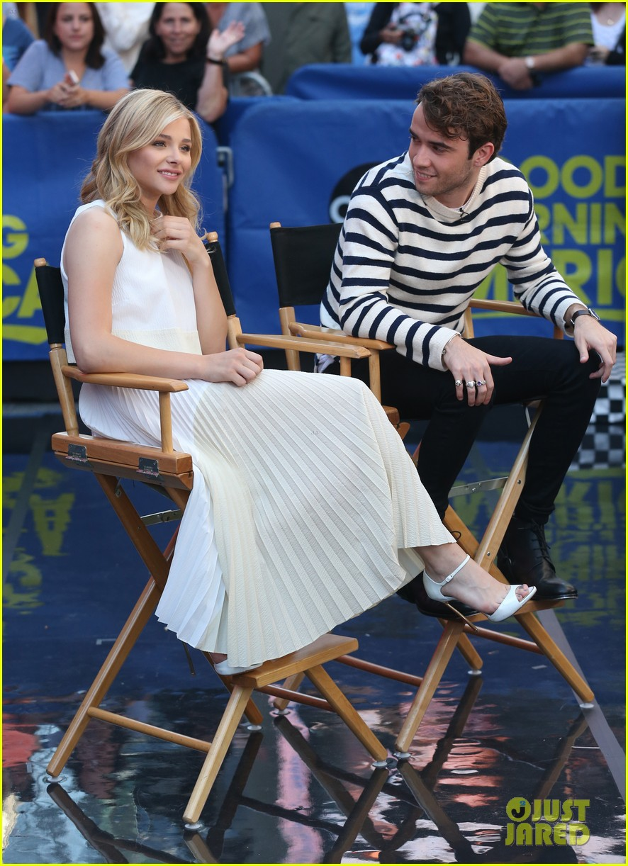 chloe moretz jamie blackley stay gma spot 023178619