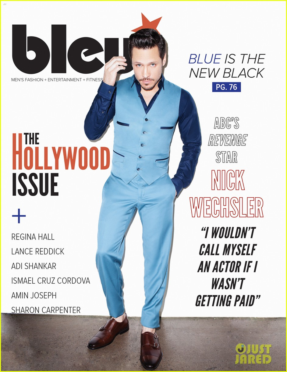 nick wechsler bleu magazine cover 013186562