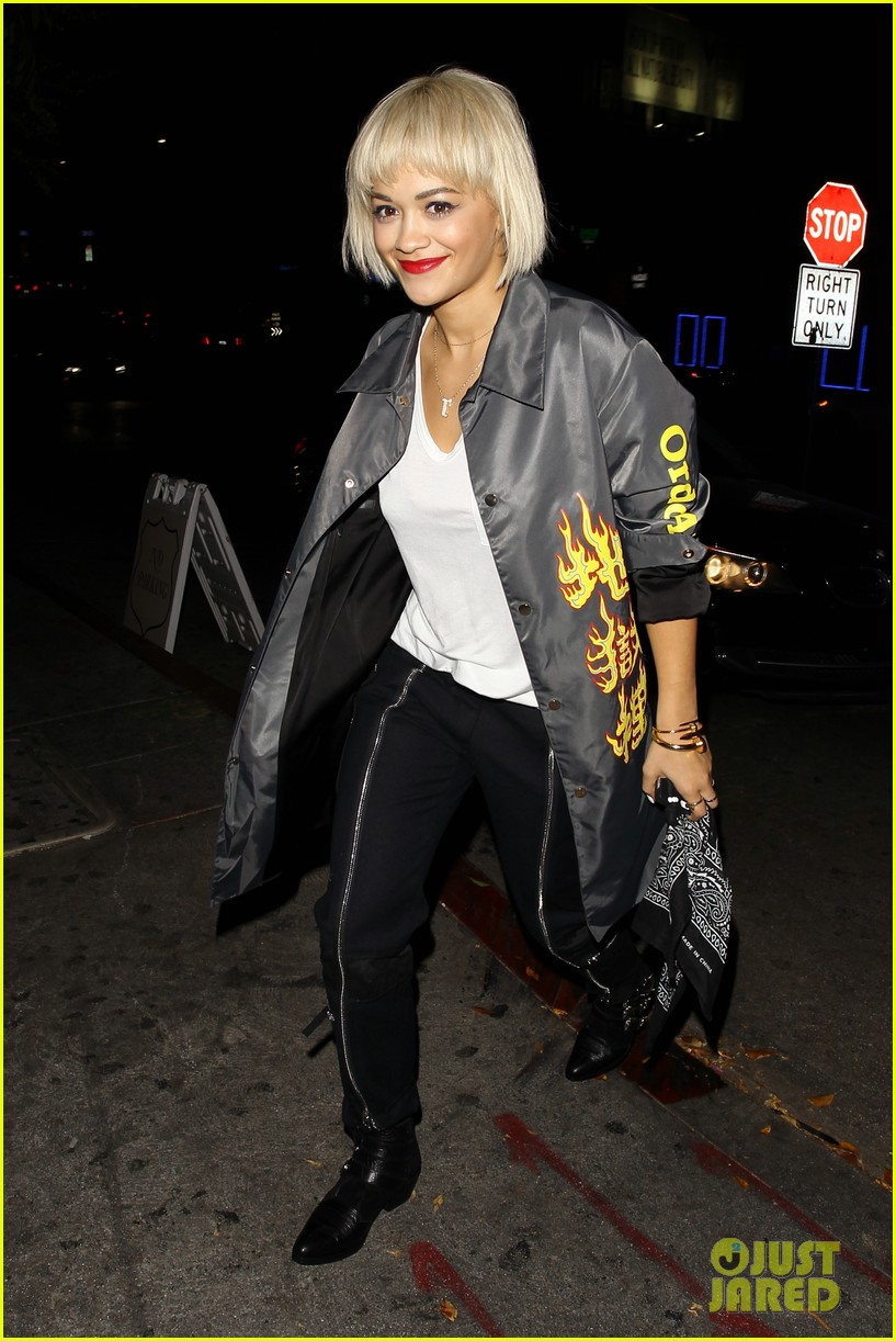 rita ora chateau marmont night out 013186695