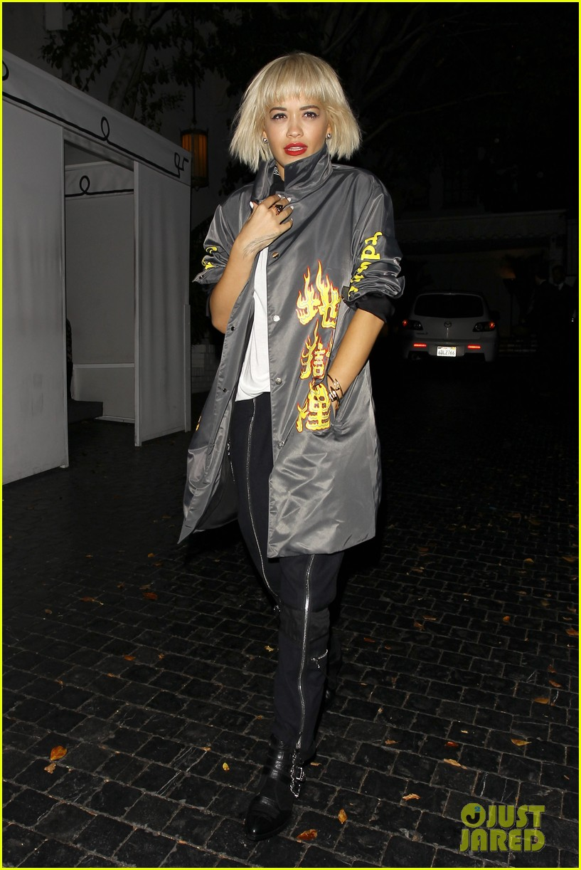 rita ora chateau marmont night out 02
