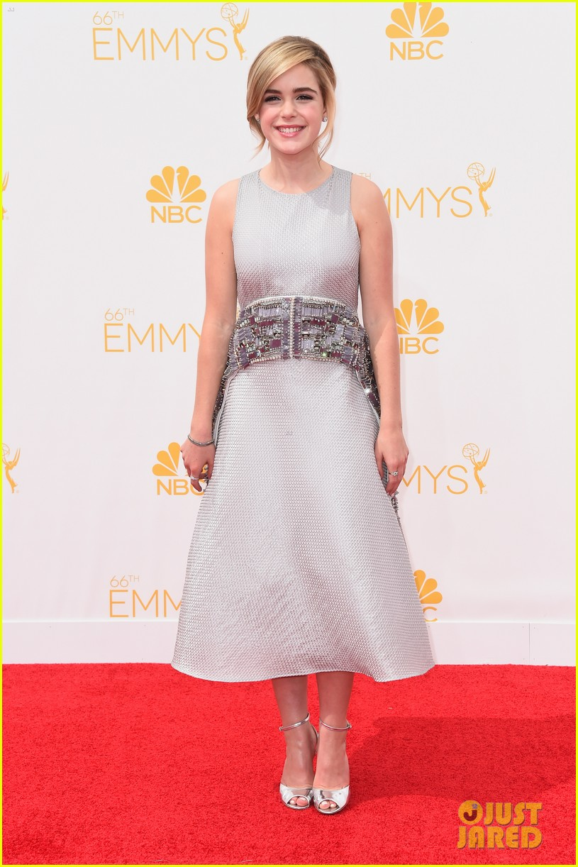 kiernan shipka teyonah parris mad men red carpet emmy 113183329