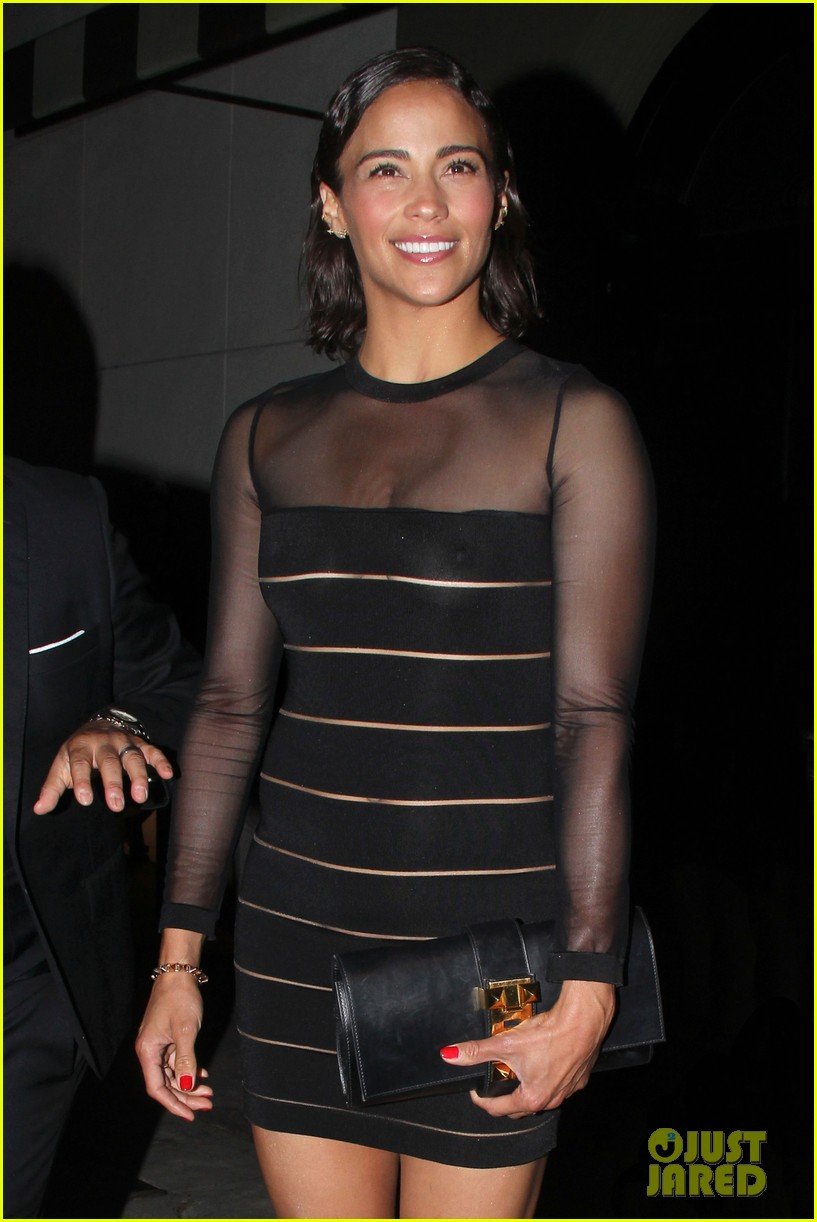 paula patton sheer dress at emmys after party 04