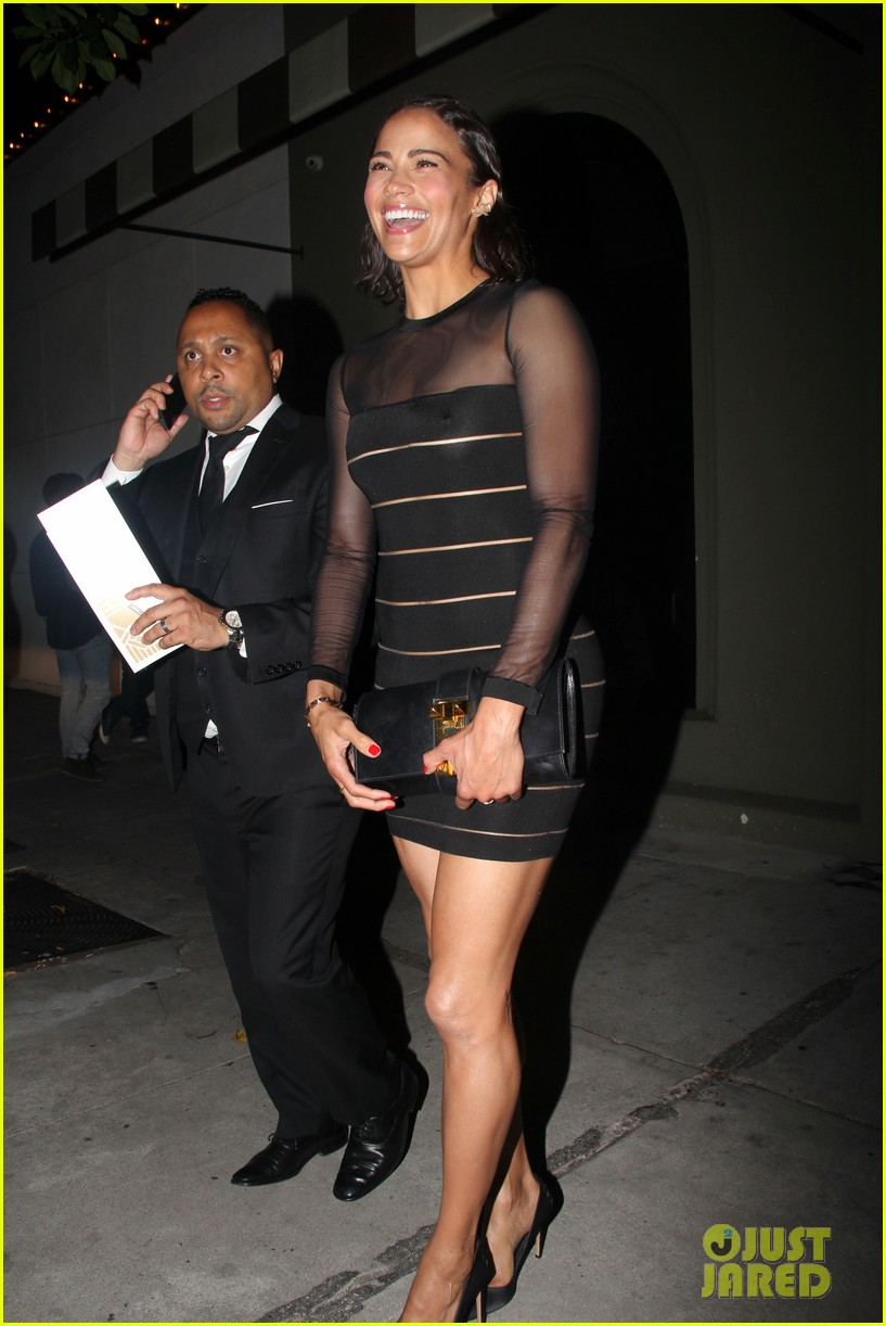 paula patton sheer dress at emmys after party 06