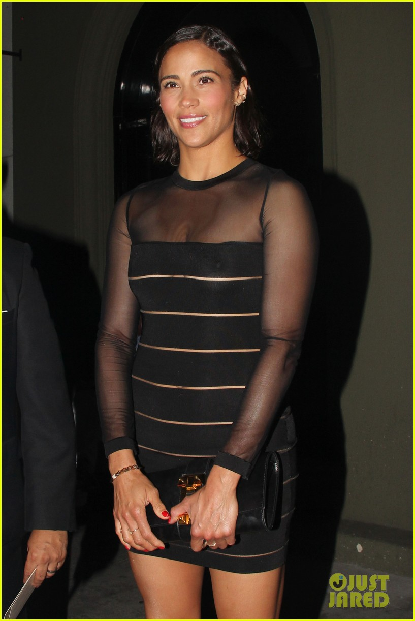 paula patton sheer dress at emmys after party 15