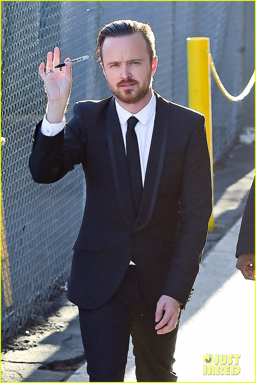 aaron paul wife lauren opens up about his emmy shout out 063185897