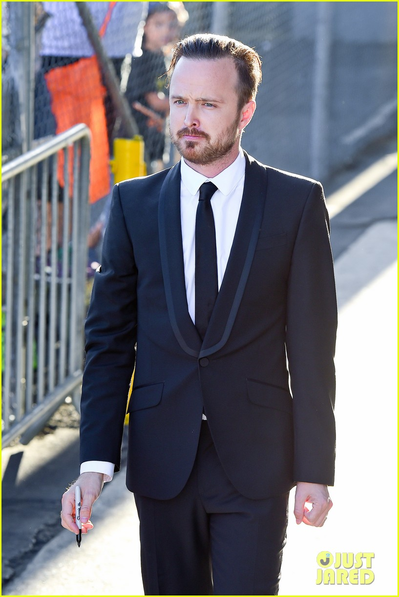 aaron paul wife lauren opens up about his emmy shout out 083185899