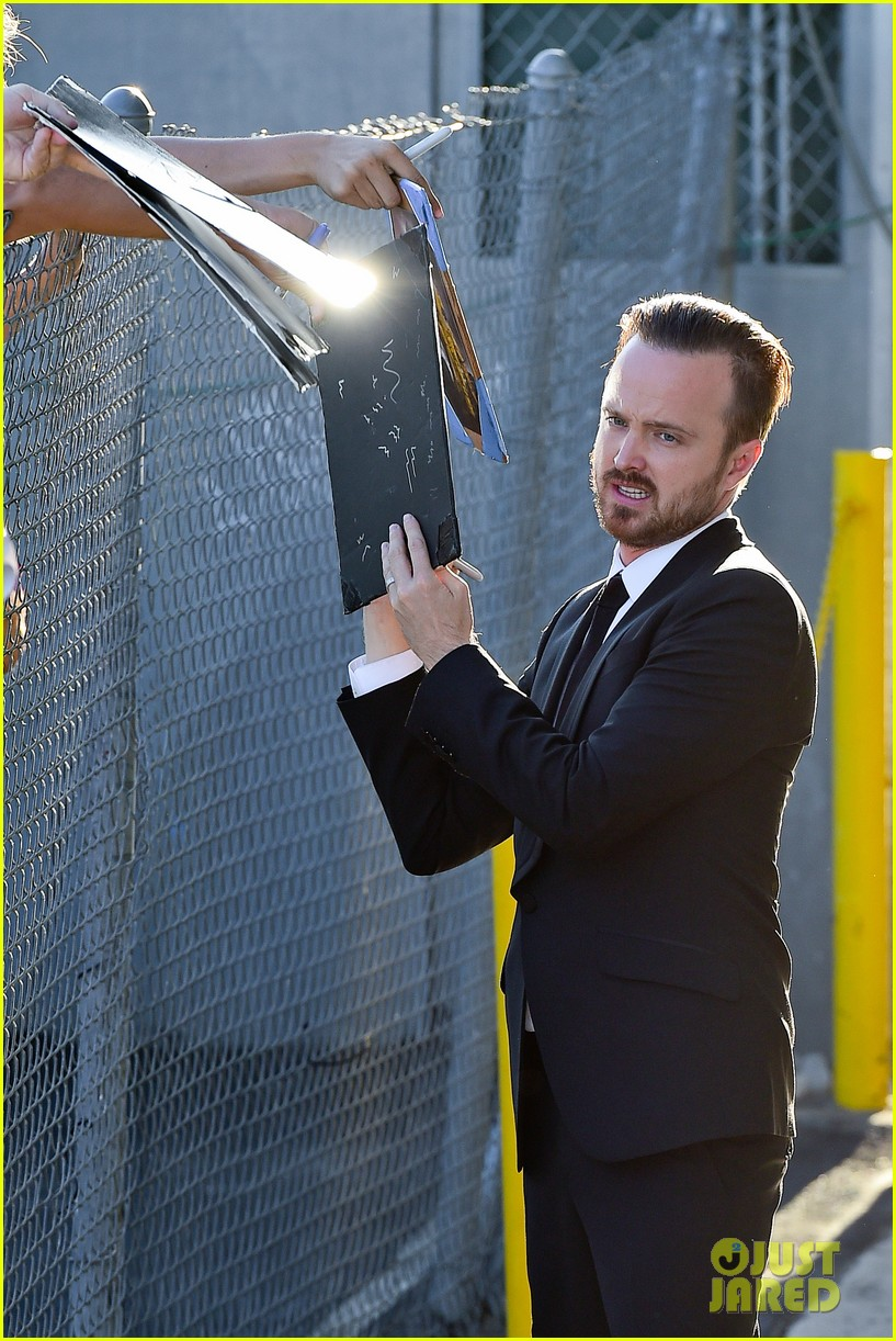 aaron paul wife lauren opens up about his emmy shout out 093185900