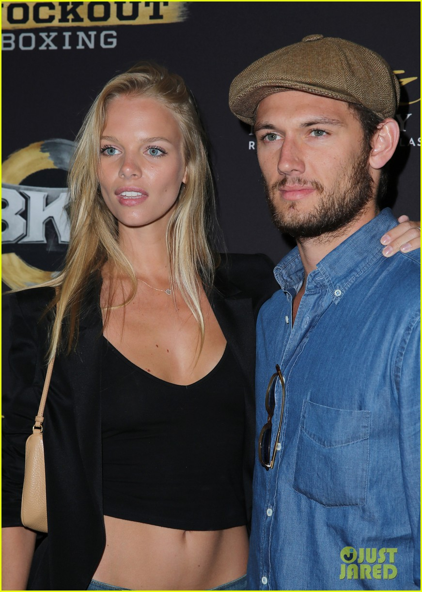 alex pettyfer marloes horst first red carpet appearance 053177818