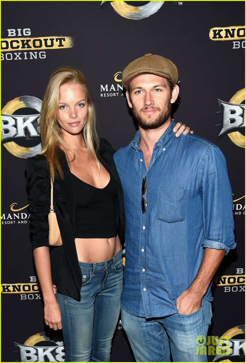 alex pettyfer marloes horst first red carpet appearance 113177824