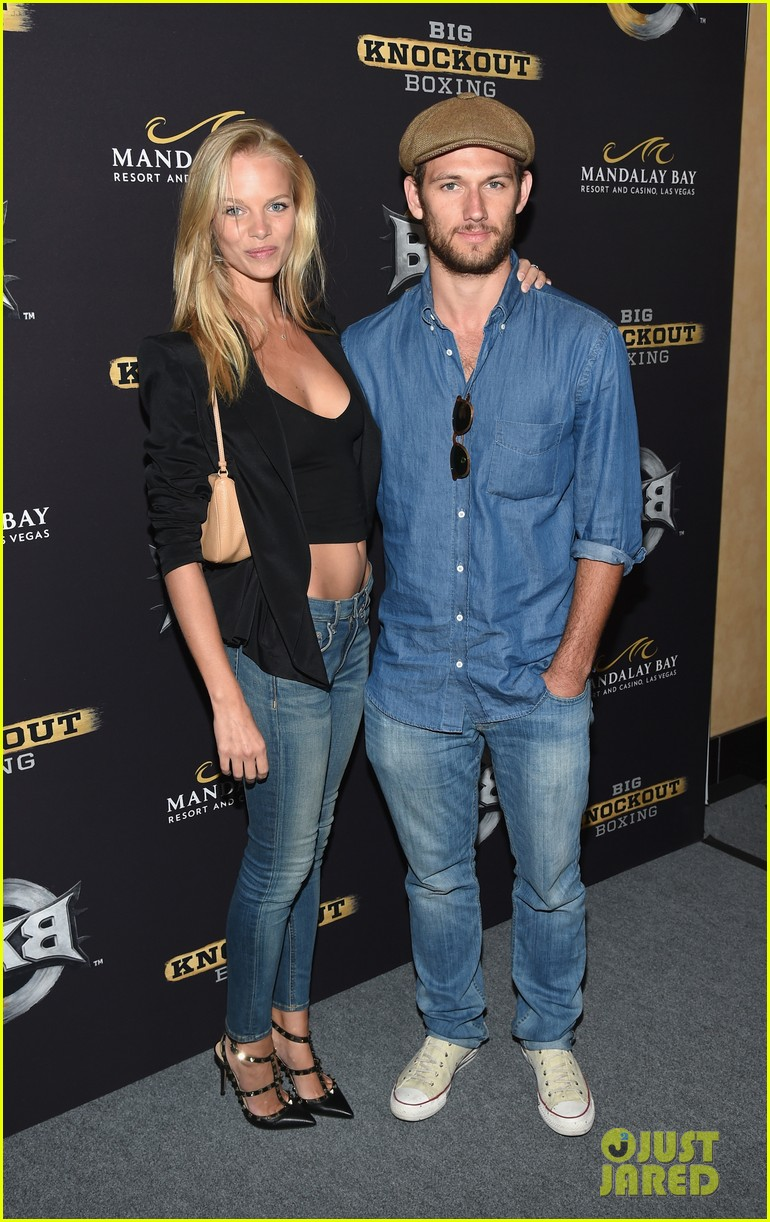 alex pettyfer marloes horst first red carpet appearance 133177826