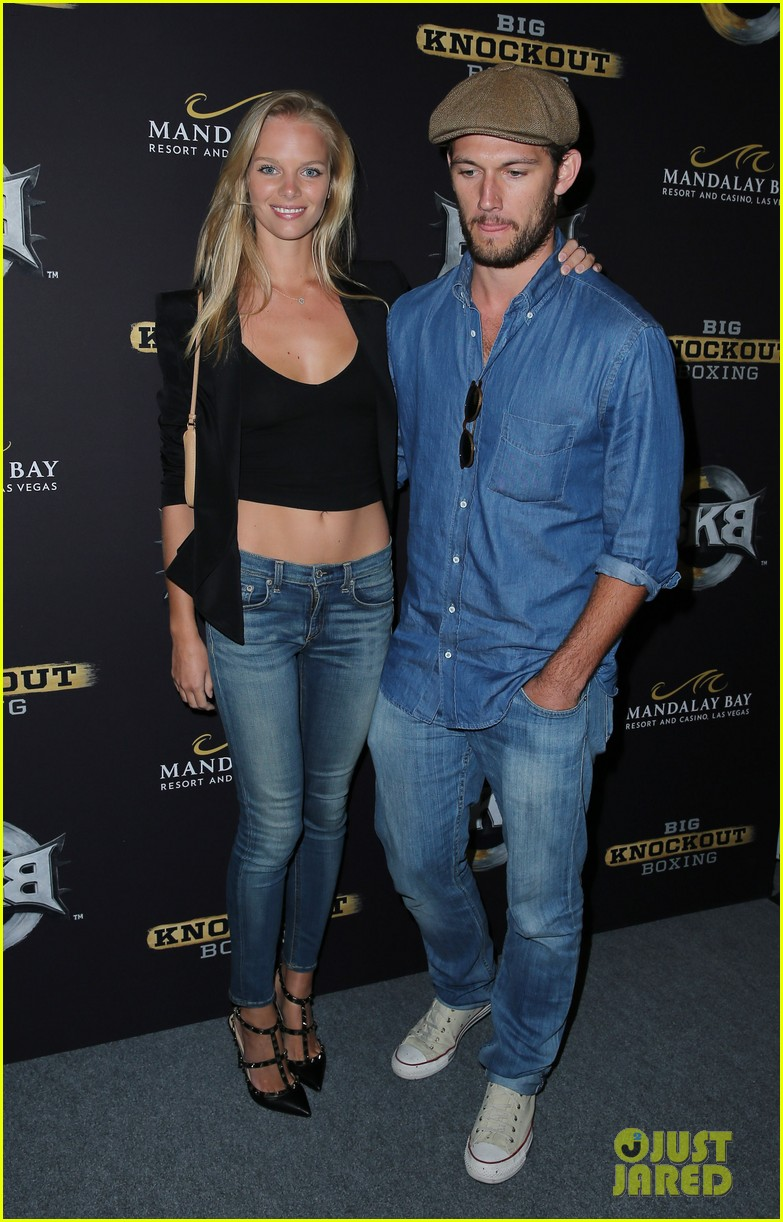 alex pettyfer marloes horst first red carpet appearance 163177829