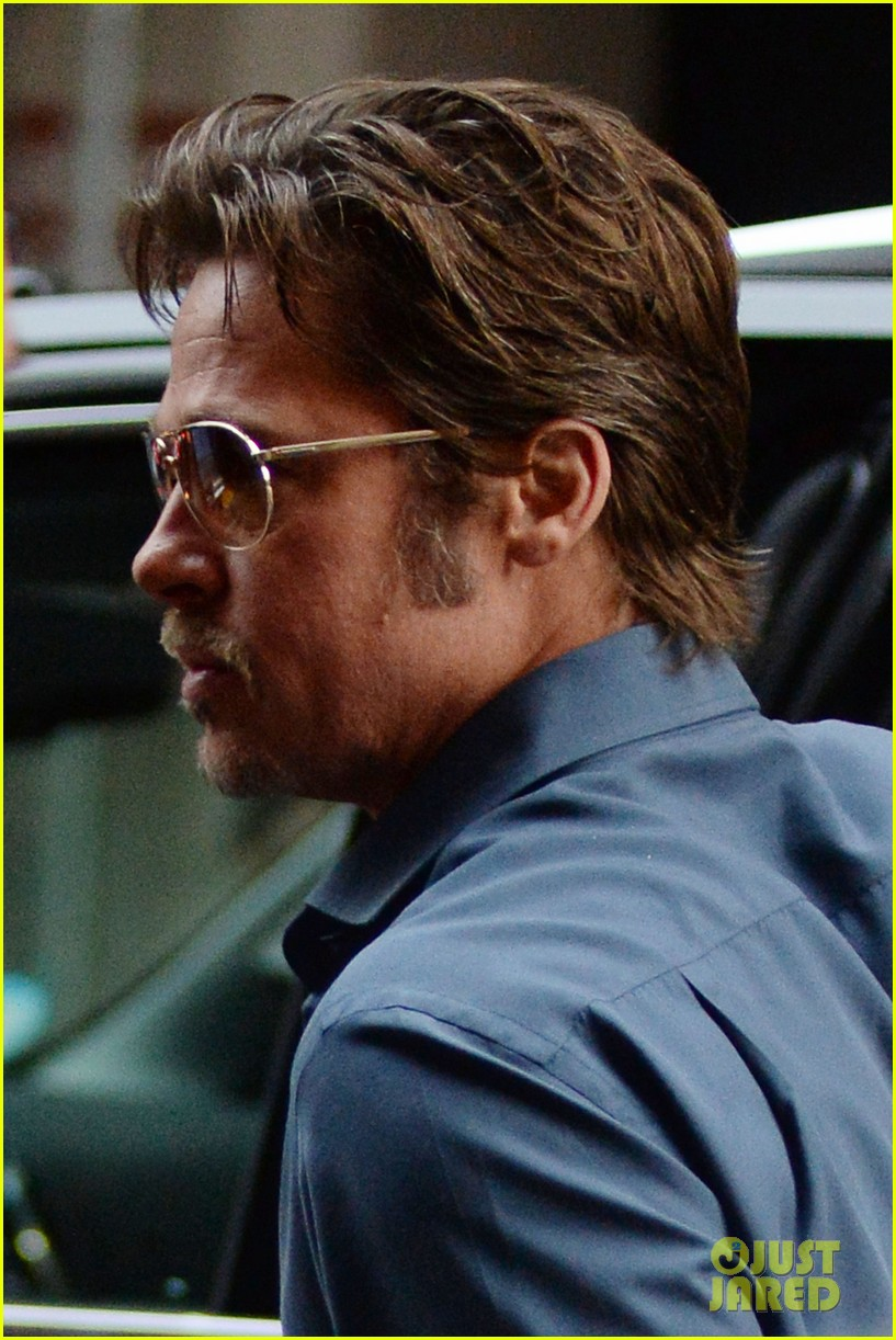 brad pitt suits up shows off wedding ring 103186900