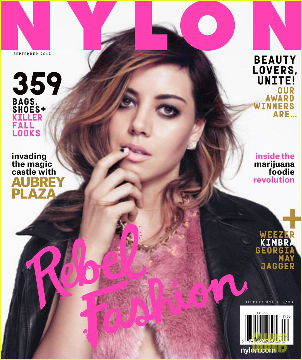 aubrey plaza nylon magazine september 2014 023180193